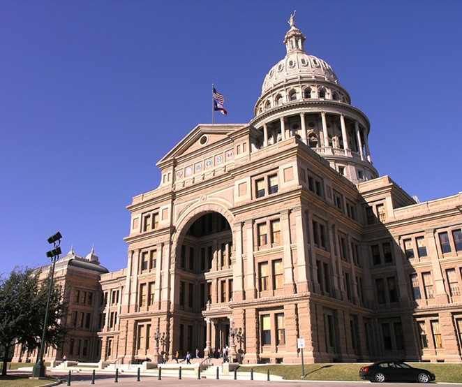 The Texas Lege is among the 30 or more statehouses in which legislation targets transgender people. - WIKIMEDIA COMMONS / DANIEL MAYER
