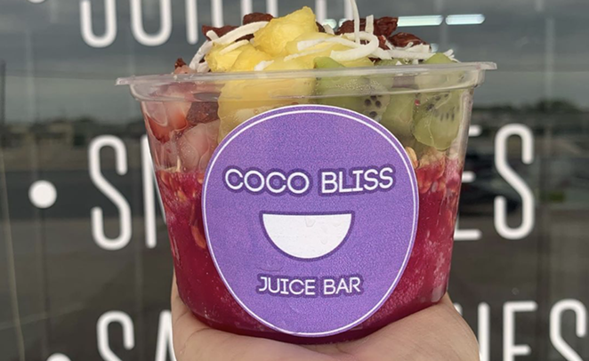 Coco Bliss, a new smoothie and juice bar, will hold its grand opening Saturday. - INSTAGRAM / COCOBLISSTX