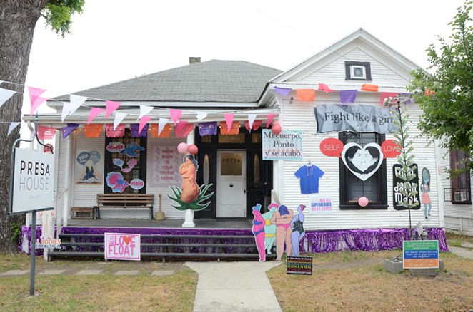 'The Love Float: Every Body Cared For' (725 S. Presa St.) - BRYAN RINDFUSS