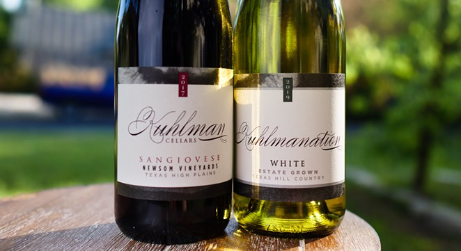 Two of Fredericksburg's Kuhlman Cellars wines won big in renowned French wine competition. - PHOTO COURTESY KUHLMAN CELLARS