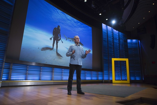 For Earth Day, National Geographic is hosting a livestream version of its Nat Geo Live talks series. - REBECCA HALE
