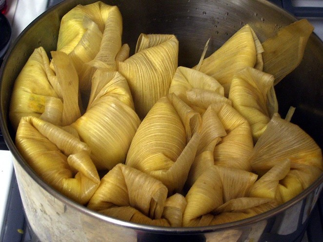 The organizer of the free San Antonio Roasted Corn Festival will hold a Tamale Fest in December. - FLICKR / PHIL! GOLD