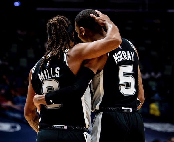 The Philadelphia 76ers face the Spurs at the AT&T Center on Sunday. - TWITTER / SPURS