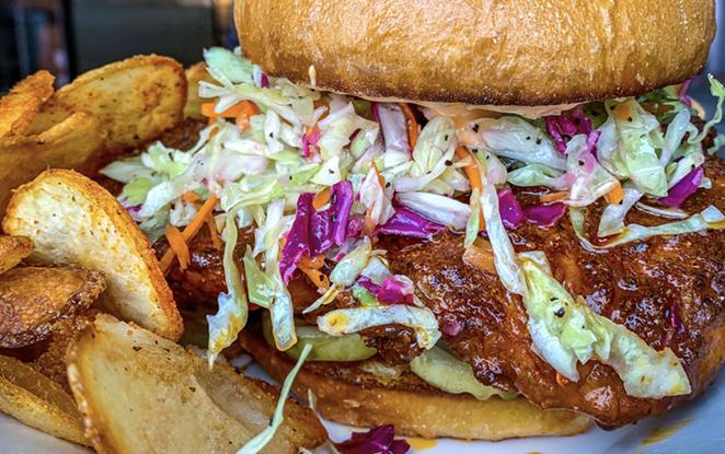 David Elder and restaurateur Cary Hamer will open Tex's Hot Chicken this year. - PHOTO COURTESY TEX'S HOT CHICKEN
