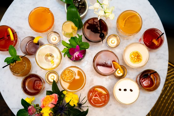 Sidecar at the Prince Solms Inn has launched a new Spring cocktail menu. - PHOTO COURTESY SIDECAR AT THE PRINCE SOLMS INN