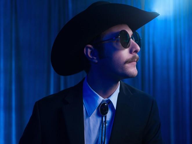 Garrett T. Capps returns as host for the ¡Viva Uno Más! telethon. - JOSH HUSKIN