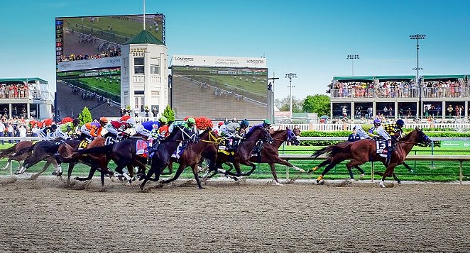The Kentucky Derby is slated for May 1. - WIKIMEDIA COMMONS / KENTUCKY DERBY