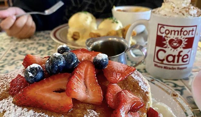 Comfort Café tops Yelp's list of Top 100 Brunch Spots in the U.S - INSTAGRAM / SIEMPRE_SANANTONIO