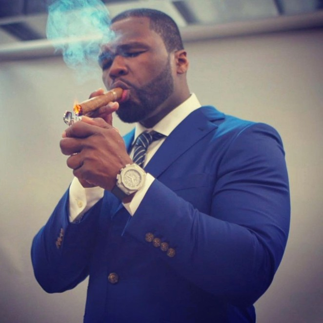Smoke BBQ + Skybar will host rapper 50 Cent for a NIOSA-inspired event. - FACEBOOK / 50 CENT