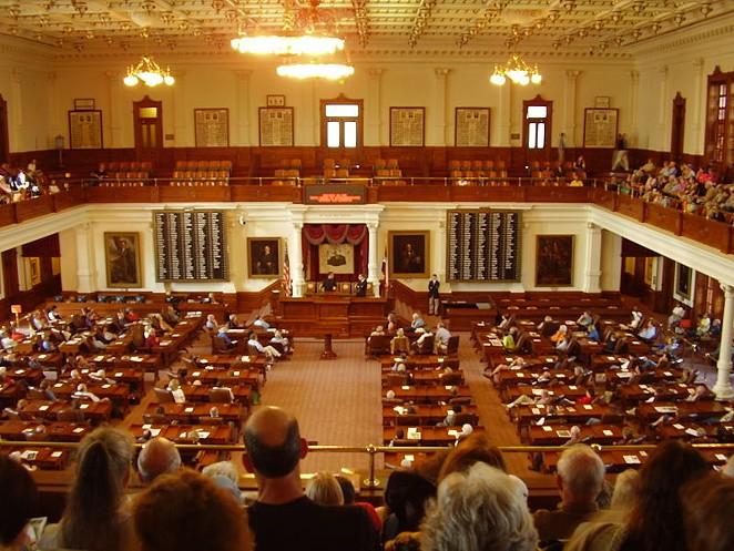 The Texas House of Representatives meets during a legislative session. - WIKIMEDIA COMMONS / ZERESHK (TALK   CONTRIBS)
