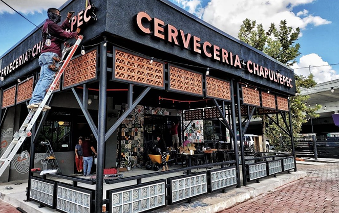 Newish downtown eatery Cervecería Chapultepec has been named in a $20 million lawsuit. - INSTAGRAM / CERVECERIACHAPULTEPECUSA