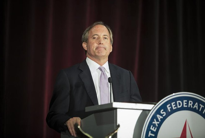 Attorney General Ken Paxton has sued the Biden administration over its decision to overturn the Trump administration's extension of a funding stream that helps provide health care for uninsured Texans. - TEXAS TRIBUNE / LAURA BUCKMAN