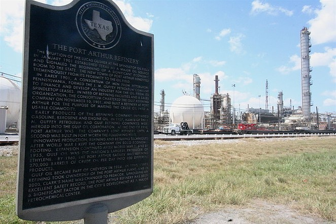 Port Arthur ISD was required to pay $30 million refunds to San Antonio-based Valero after the energy company waged a court battle over properties, including this Port Arthur refinery. - WIKIMEDIA COMMONS / ROY.LUCK