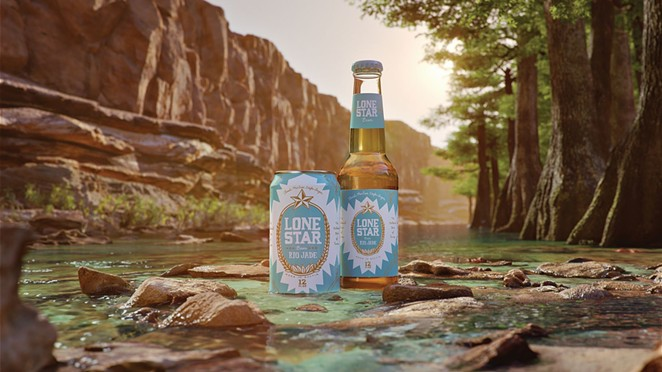 Lone Star Beer debuted its new Rio Jade Mexican-style lager last summer. - COURTESY PHOTO / LONE STAR BEER