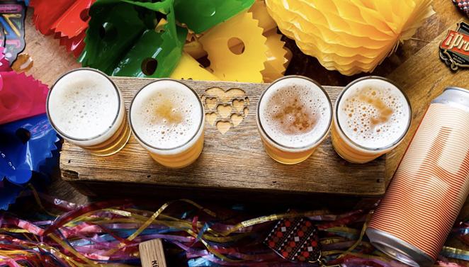 Earlier this year, San Antonio's Künstler Brewing released a unique imperial IPA brewed with sake yeast. - FACEBOOK / KÜNSTLER BREWING