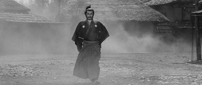Slab Cinema will screen Akira Kurosawa's Yojimbo at Legacy Park on Tuesday. - THE CRITERION COLLECTION