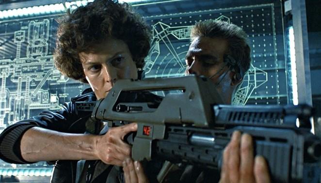 Lt. Ellen Ripley faces off against the xenomorphs again in James Cameron's Aliens. - 20TH CENTURY FOX HOME ENTERTAINMENT
