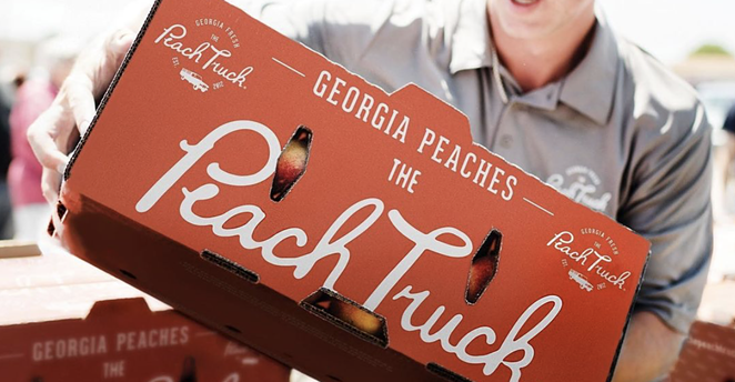 The Peach Truck Tour is set to travel to 25 states across the country, including several stops in the Alamo City. - INSTAGRAM / THEPEACHTRUCK