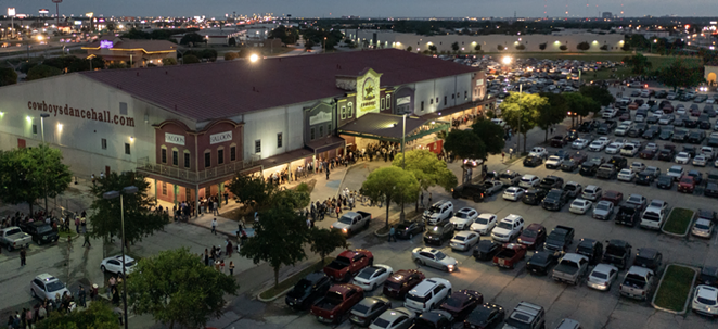 Cowboys Dancehall was nearly shut down this weekend due to being over capacity - again. - PAUL DIGIOVANNI / DGDRONEPHOTO.COM