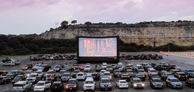 SA's largest outdoor screening event will reopen at Six Flags Fiesta Texas on Thursday, June 10. - COURTESY PHOTO / THE DRIVE-IN AT LA CANTERA