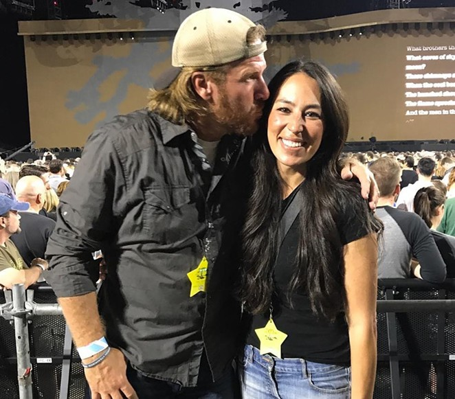 Famous Texans Chip and Joanna Gaines donated to a school board candidate who wants to ban critical race theory in the district's curriculum. - INSTAGRAM / @CHIPGAINES