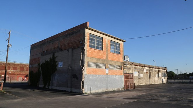 The former Whitt Printing Co. building property next to the former Golden Star restaurant at 821 W. Commerce St. is being eyed for redevelopment. - SA HERON / BEN OLIVO