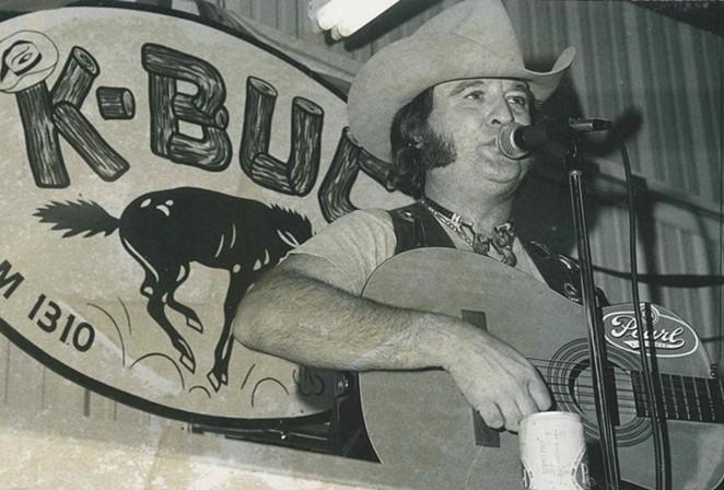 Willie Nelson's cover of San Antonio singer Johnny Bush's