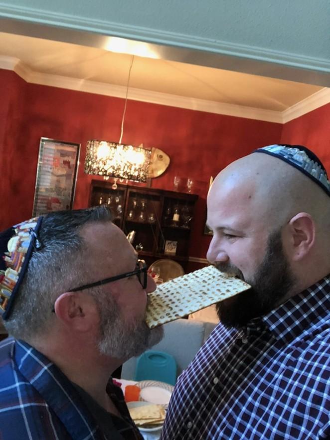 Jason (left) and Charlie Nuttall-Fiske, will introduce the Alamo City to traditional Jewish fare via Bubby's Jewish Soul Food. - COURTESY PHOTO / JASON NUTTALL-FISKE