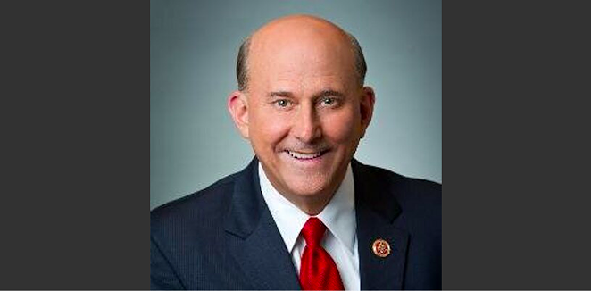 U.S. Rep. Louie Gohmert reportedly posed with a QAnon-promoting podcaster who has claimed he participated in the January 6 insurrection. - TWITTER / @REPLOUIEGOHMERT