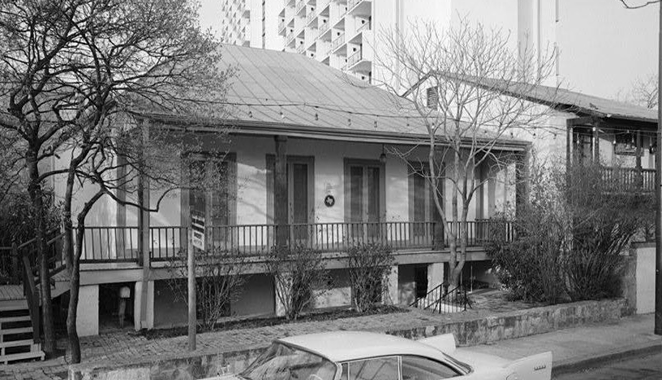 The Dashiell House, as it appeared in a vintage photo. - FACEBOOK / DASHIELL HOUSE