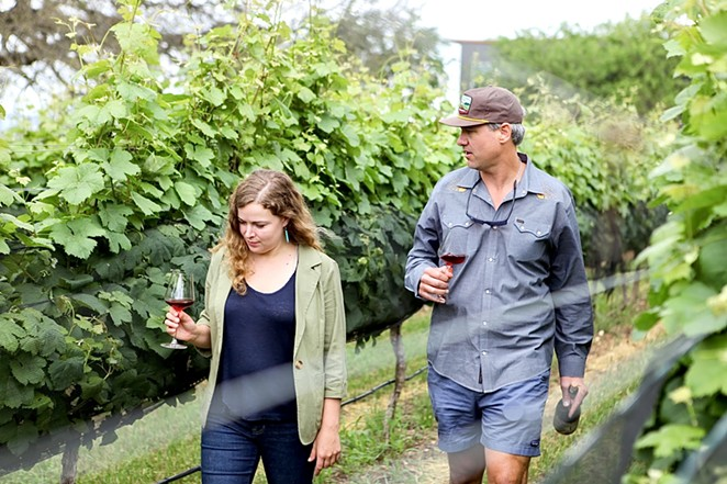 Texas sommelier and Emmer & Rye Wine Director and Manager Ali Schmidt lent her expertise on this version of the wine. - MADISON BOUDREAUX / DAVID BATES