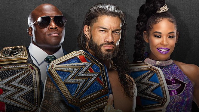 A 25-city summer tour marks WWE's return to live audience shows. - COURTESY PHOTO / WWE