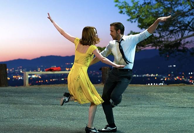 La La Land is one of three movies screening in San Antonio on Tuesday. - LIONSGATE