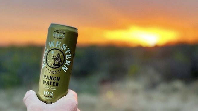 Epic Western Cocktail Company will launch a canned Ranch Water this summer. - INSTAGRAM /  JTVANZANDT