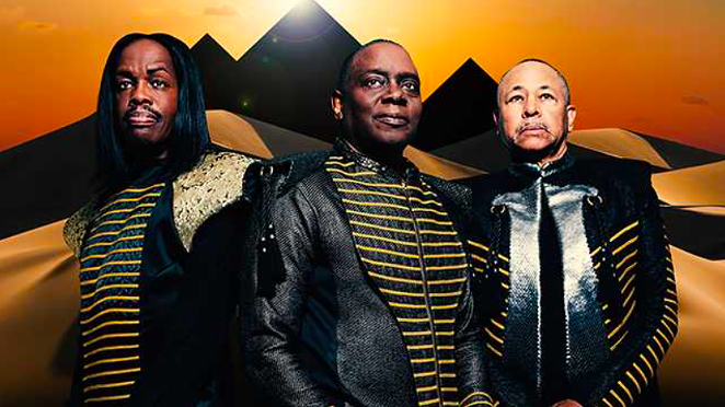 R&B group Earth, Wind & Fire will hit San Antonio in September as part of a 50-city tour. - COURTESY PHOTO / EARTH, WIND & FIRE