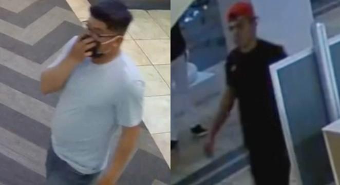 The San Antonio Police Department has released video of persons of interest in last weekend's Palladium movie theater stabbing. - INSTAGRAM / SANANTONIOPD