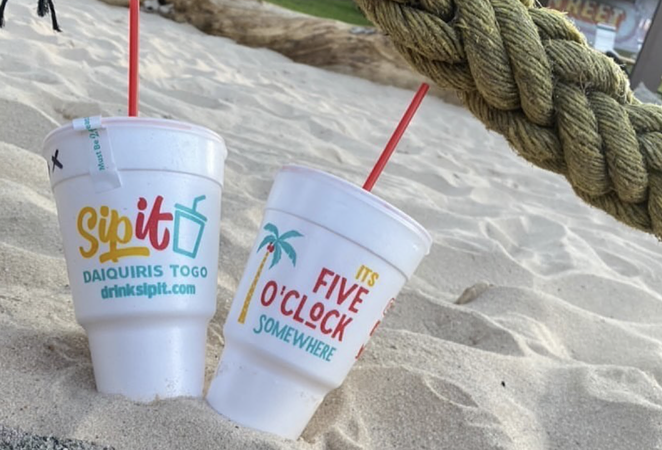 SipIt Daiquiris To-Go is now serving boozy frozen drinks on San Antonio's far West Side. - INSTAGRAM / SIPITDAIQUIRIS
