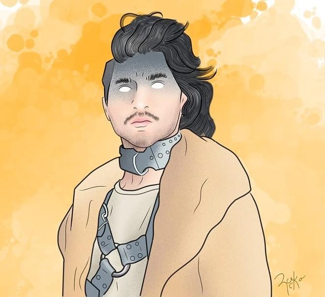 "Blogger Rodrigo Palos created fan art of Akasha Luxe based on the ""Tinseltown"" episode of Legendary. - RODRIGO PALOS"