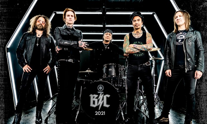 Nineties rockers Buckcherry, who once sang about their fondness for yayo, will appear June 16 at the Rock Box. - COURTESY OF BUCKCHERRY