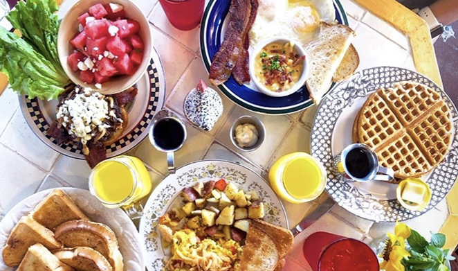 Brunch haven Comfort Café will open a second location SA location this week. - INSTAGRAM / COMFORTCAFESATX