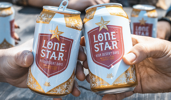Lone Star Beer's latest release, High Desert Days. - PHOTO COURTESY LONE STAR BEER
