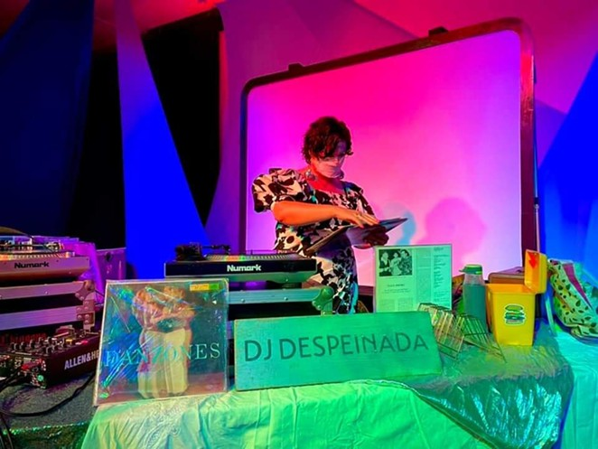 DJ Despeinada will perform a set featuring women and BIPOC artists at Saturday's Fiesta-themed event. - FACEBOOK / URBAN-15 GROUP