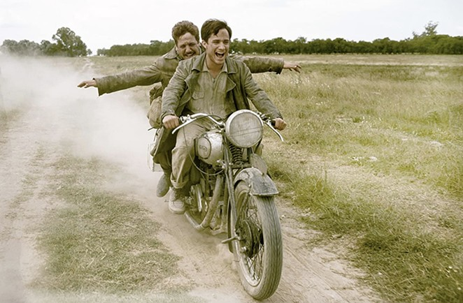 Slab Cinema will screen The Motorcycle Diaries at Legacy Park on Tuesday. - FOCUS FEATURES