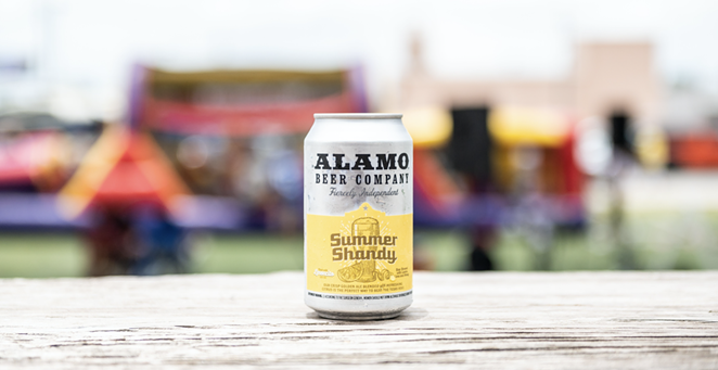 Alamo's Summer Shandy is the brewery's first summertime seasonal suds of 2021. - PHOTO COURTESY ALAMO BEER COMPANY