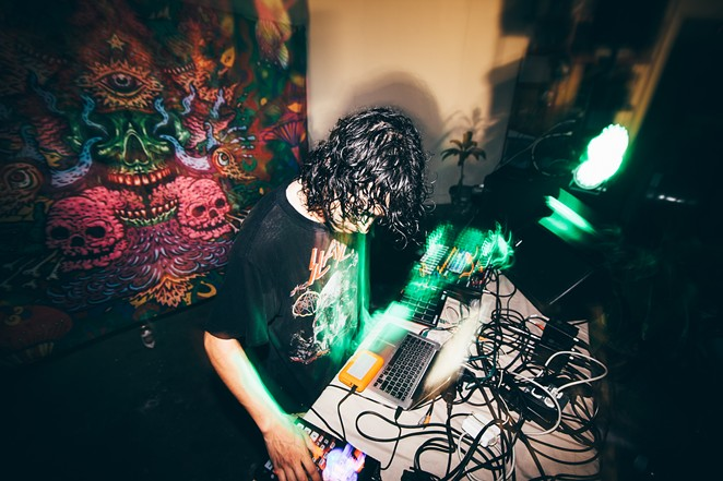 For the past eight years, ARK has trekked coast to coast playing diverse and uniquely curated events showcasing his blend of analog and digital beat-making. - LUPE MARTINEZ