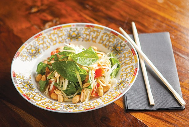 The Umai Mi pop-up will feature a version of Dady's storied green papaya salad. - PAYTONPHOTOGRAPHY.COM