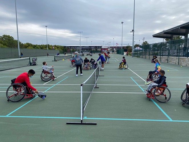 Morgan's Wonderland Sports has accessible tennis and pickleball courts. - FACEBOOK / MORGAN'S WONDERLAND SPORTS