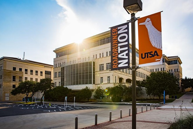 The main campus of the University of Texas at San Antonio. - TEXAS TRIBUNE / CHRIS STOKES