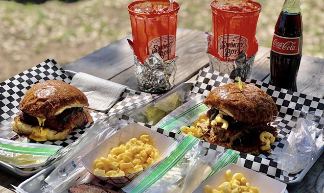 Smokey Boys Barbecue will be one of the park's three permanent food trucks. - INSTAGRAM / SMOKEYBOYSBARBECUE