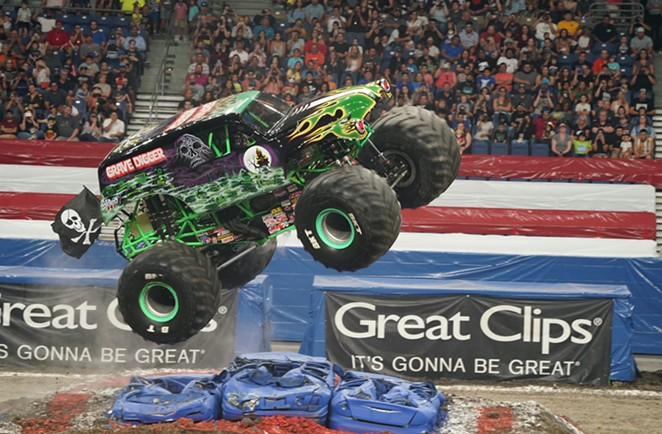 The Alamodome will be taken over by monster trucks this Fourth of July weekend. - JOSHUA LINARES